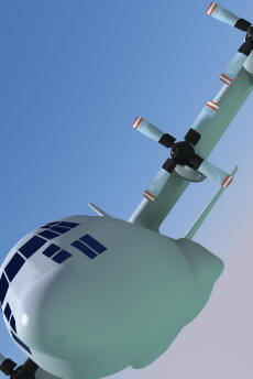 C-130 Hercules model